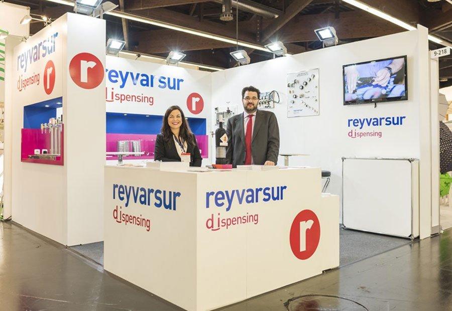 Reyvarsur participó en la Brau Beviale 2015. Reyvarsur. Productos para instalaciones cerveceras y para bebidas carbonatadas. Reductores y variadores.