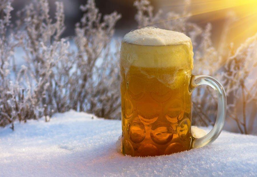 La temperatura correcta para servir una cerveza