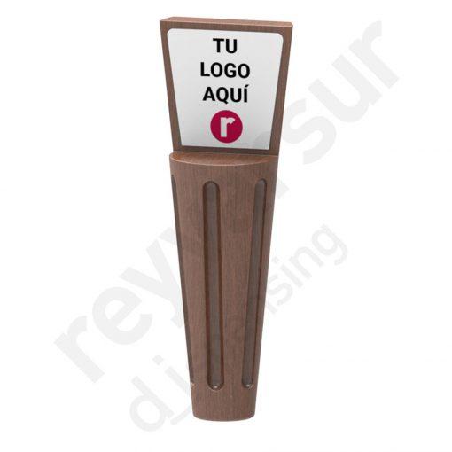 Mango Beerfalls modelo Victoria madera wengué. Reyvarsur, soluciones en dispensación bebidas embarriladas, cerveza, vino, sidra, agua o soda.