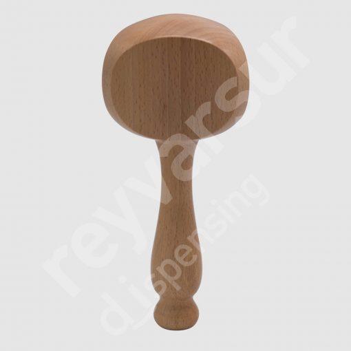 Mango Beerfalls modelo Epupa madera castaño. Reyvarsur, soluciones en dispensación bebidas embarriladas, cerveza, vino, sidra, agua o soda.