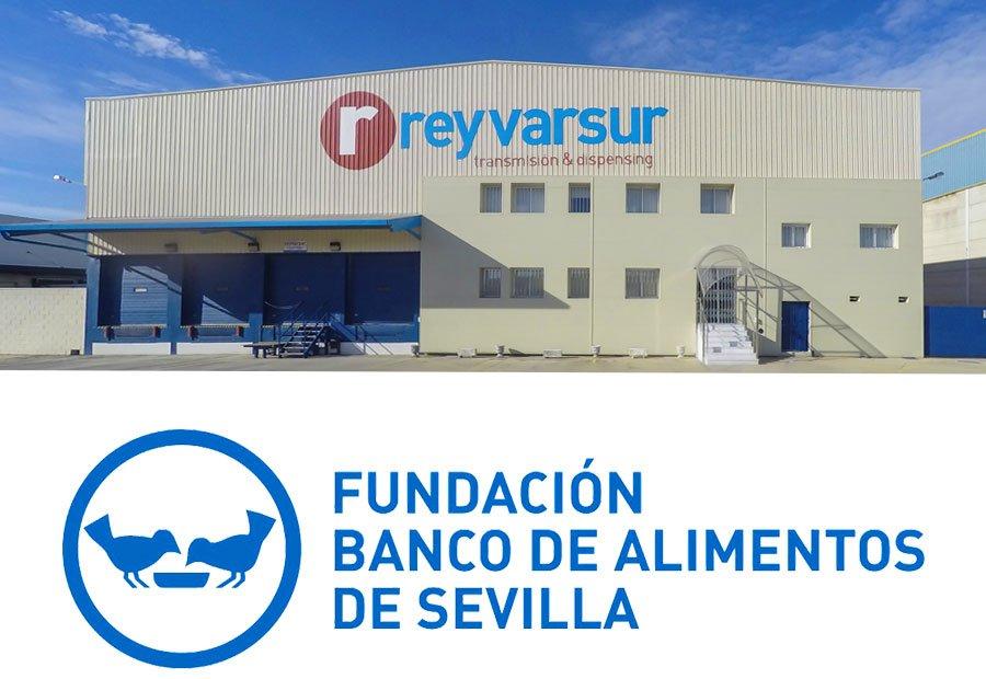 Reyvarsur colabora con el Banco de Alimentos de Sevilla