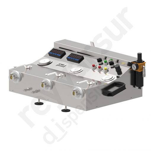 Sistema de verificación de funcionamiento de reguladores de presión. Reyvarsur, soluciones en dispensación de bebidas, cerveza, vino, sidra, agua o soda.