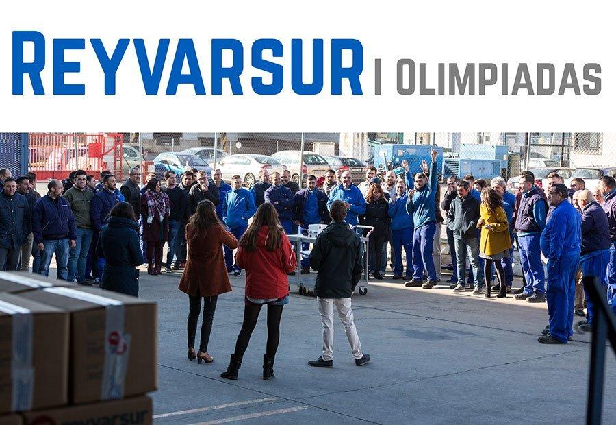 Reyvarsur despide el año celebrando la primera edición de sus Olimpiadas. Reyvarsur, soluciones para la dispensación de cerveza, vino, sidra, agua o soda.