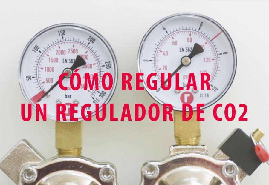 Cómo regular un regulador de CO2 de forma rápida y sencilla