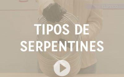 Por qué existen distintos tipos de serpentines